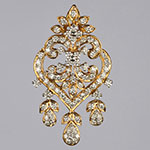Diamond Lockets,Mangatrai,2.17ct. Diamond Locket in 18kt. Gold
