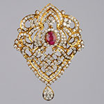 Diamond Lockets,Mangatrai,2.93ct. Diamond Locket in 18kt. Gold