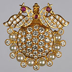 Diamond Lockets,Mangatrai,2.85ct. Diamond Locket in 22kt. Gold