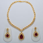 Diamond Necklace Sets,Mangatrai,5.48 - 3.21ct. Diamond Necklace Set in 18kt. Gold