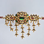 Kundan Bajuband,Mangatrai,39.460gms Kundan Bajuband in 22kt. Gold