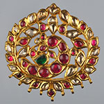 Kundan Lockets,Mangatrai,21.560gms Kundan Locket in 22kt. Gold