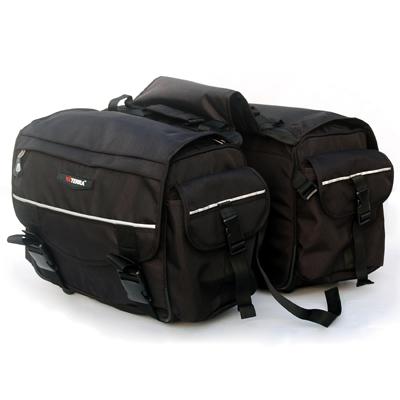 Motorcycle Touring, Bags, VIATERRA, ViaTerra, ViaTerra Leh - Saddlebags for Royal Enfield Bullet/ Bajaj Avenger