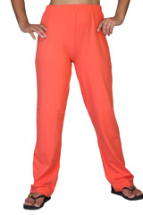 Clifton Women's Solid Pyjamas Deep Orange