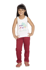 Clifton Girls Sold Pyjama Maroon