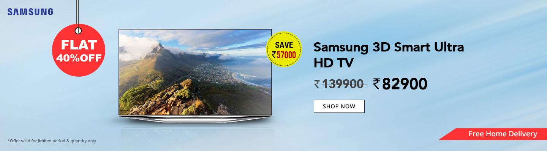 Samsung 3D Smart Ultra HD TV