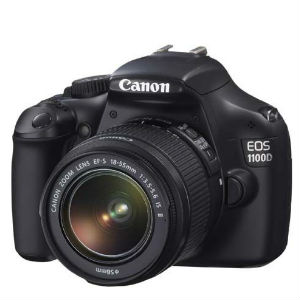 SLR, Digital Cameras, Cameras, Sharaf DG, Canon, Canon EOS1100D Digital SLR Camera +18-55mm DC+55-250mm IS+50mm 1.8 Lens Kit