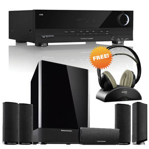 Home Theater Packages, Home Theatre System and Speakers, Electronics, Sharaf DG, Harman Kardon, Harman Kardon (AVR70+HKTS9BQ+AKG K912) Home Theater Package