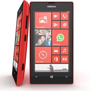 Nokia 520 Lumia Smartphone Red AFC