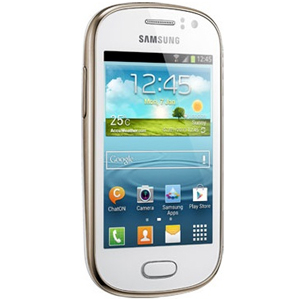 Samsung GTS6810 Galaxy Fame Smartphone White