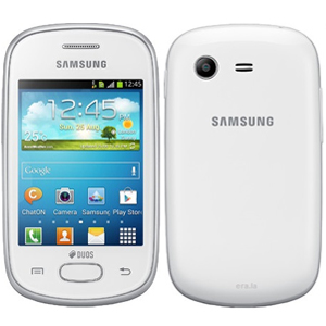 Samsung GTS5282 Galaxy Star Duos Smartphone White