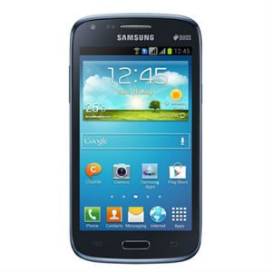 Smart Phones, Mobiles, Phones, Sharaf DG, Samsung, Samsung GTI8262 Galaxy Core Duos Smartphone Metallic Blue