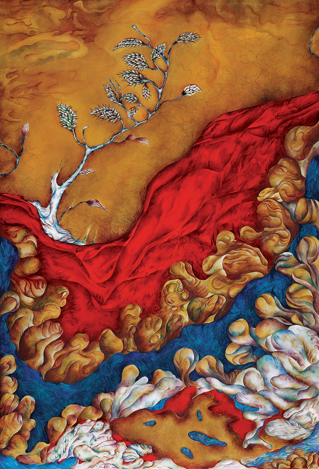 TAPESTRY OF HOPE WOVEN