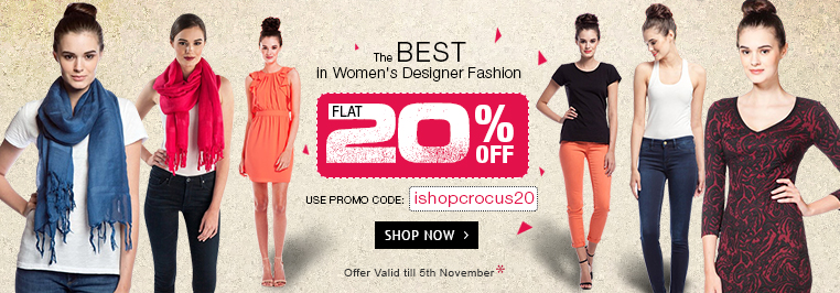 Flat 20% Crocus Couture