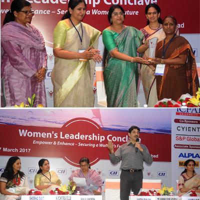 Mrs. Sailaja kiron at Women's leadership conclave