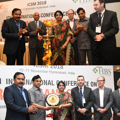 MD Sailaja Kiron has attended 5th international conference on stress mangament (ICSM) 2018