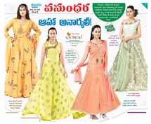 Kalanjali presenting fashion trends...
