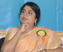 Mrs. Sailaja Kiron at Siddhartha institute of technology