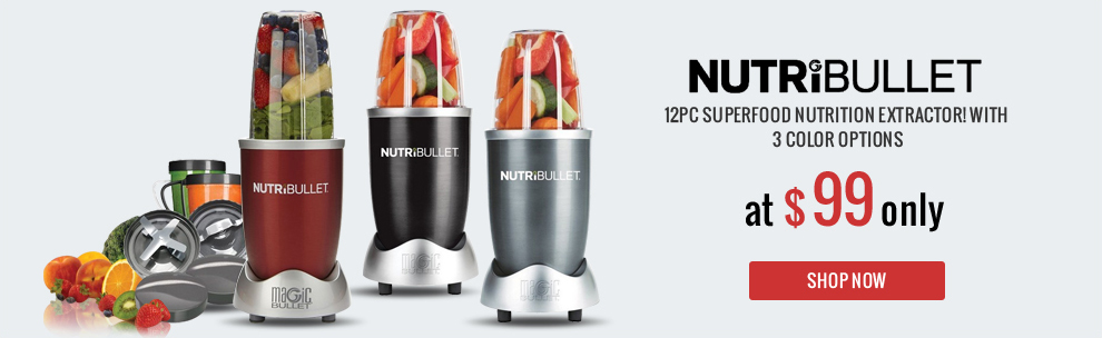NutriBullet 12pc - SuperFood Nutrition Extractor