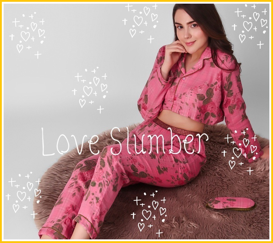 prevalent 60% clearance nice shoes Buy Night Suits for Women Online - The Pink Elephant