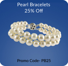 Buy Pearl Bracelets Online with 25% off
