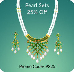 Buy Pearl Set & Necklaces With Huge Discounts