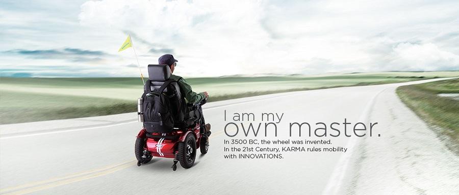 Karma Banner Power wheelchair