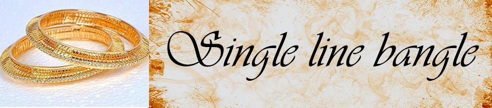 Single Line Bangle