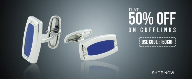 Diwali Special Offers on Orosilber Cufflinks