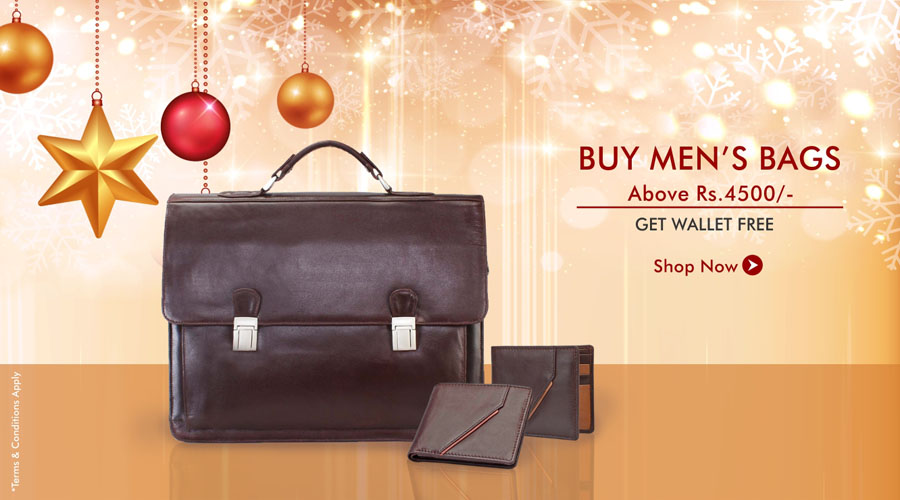 Christmas Offer Mens Bags