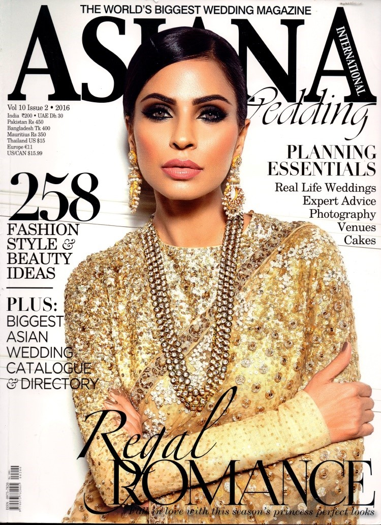 Asiana Is A 450 Page Flagship Bridal Magazine In Uk Which Features Celebrity Lifestyles Fashion Makeup Jewelry Planning For The Wedding