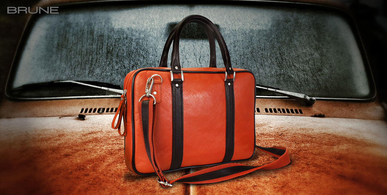 Brune Leather Bags