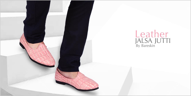 Leather Jalsa Jutti