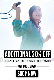badminton rackets Additional 20% off