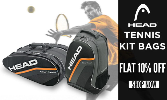 Flat 10% OFF on Head Tennis Kit Bags