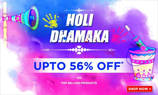 Flat 57% Off On Holi