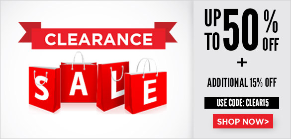 Clearance sale ADD 15%