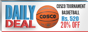 Cosco Tournament Basketball @ Rs 520 (20% OFF)