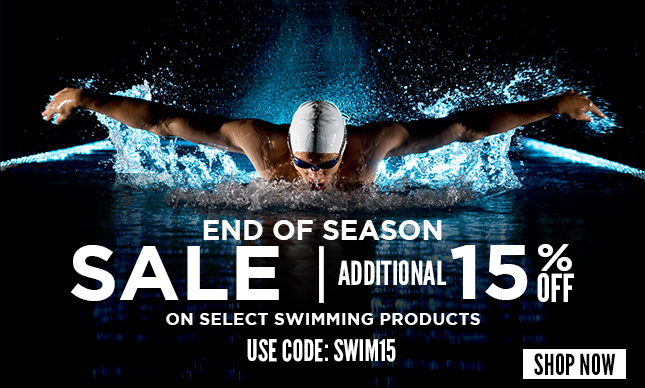 End of season swimming sale Additional 15% OFF