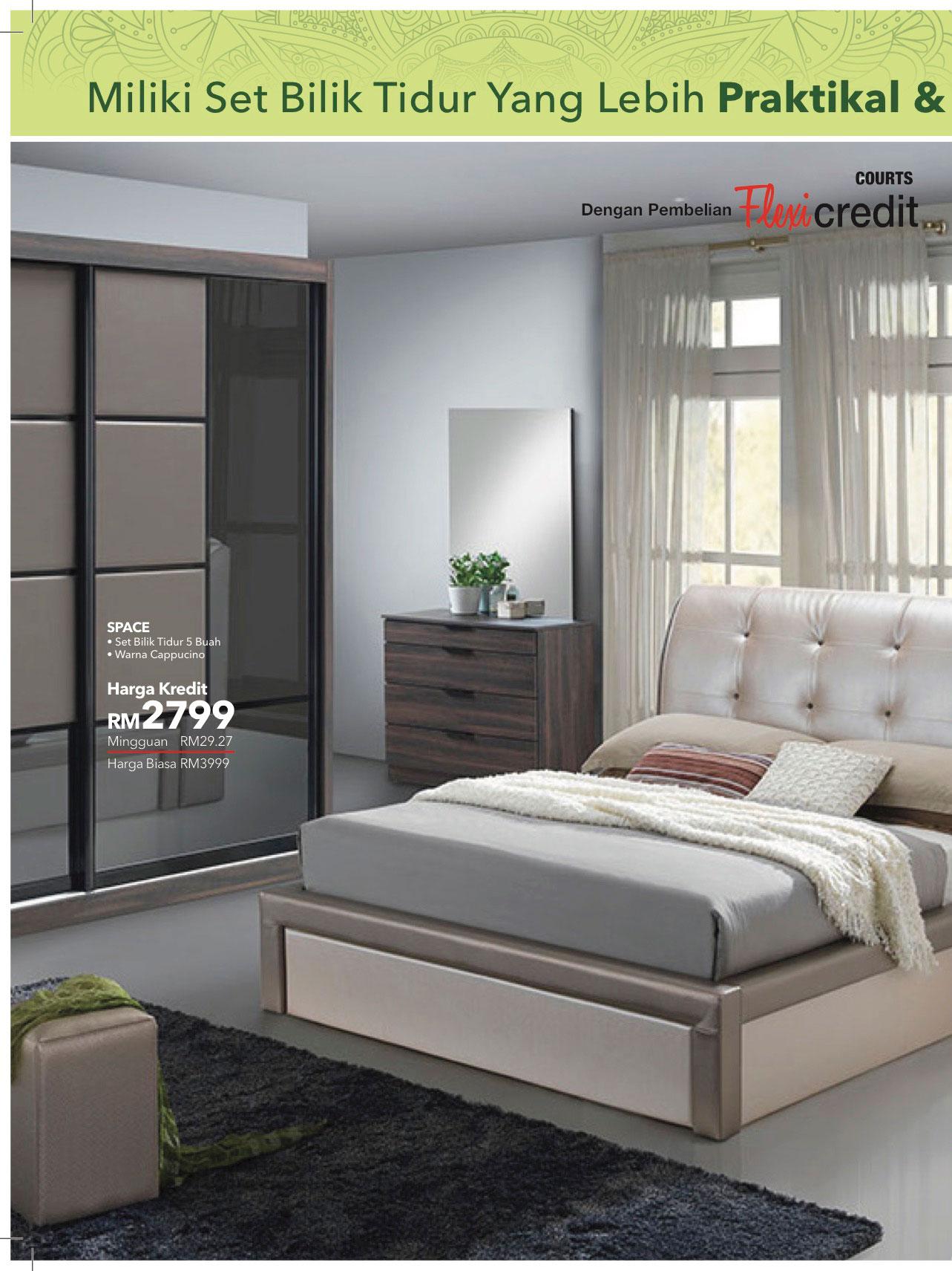 Harga Set Perabot Bilik Tidur Desainrumahid