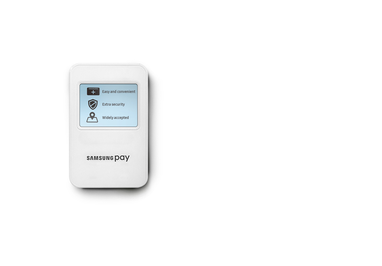Samsung Pay payment terminal