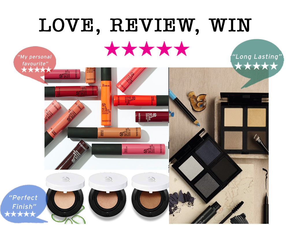 The Body shop Rating Competition
