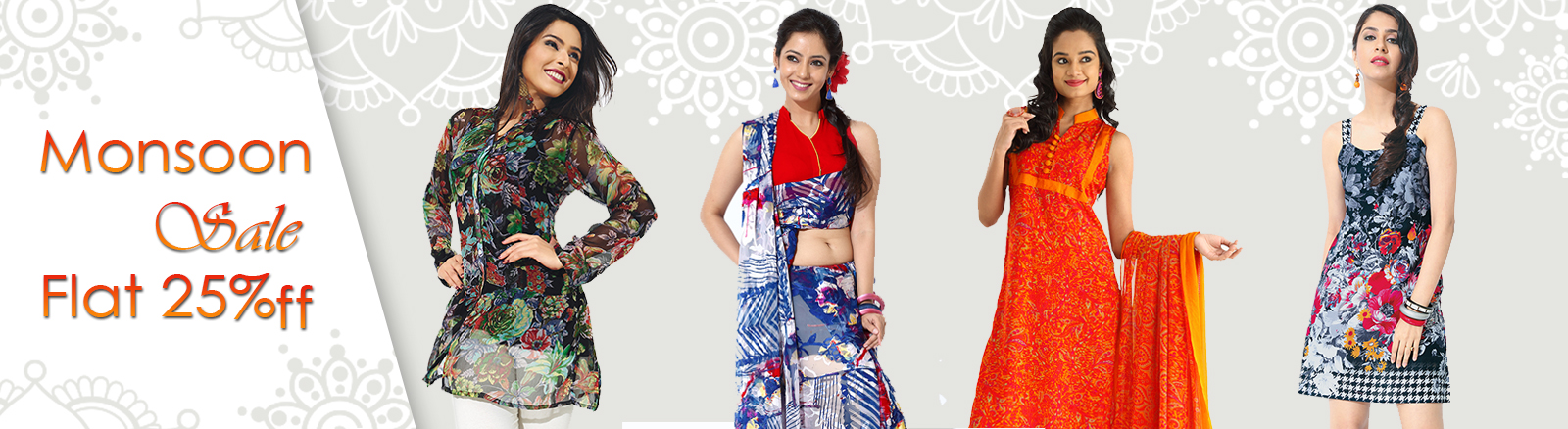 Printed Cotton Kurtis and Tunics