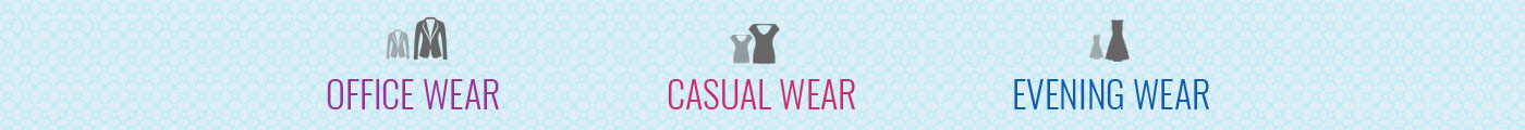 Buy Office wear, Casual wear, Evening wear from Gardenvareli