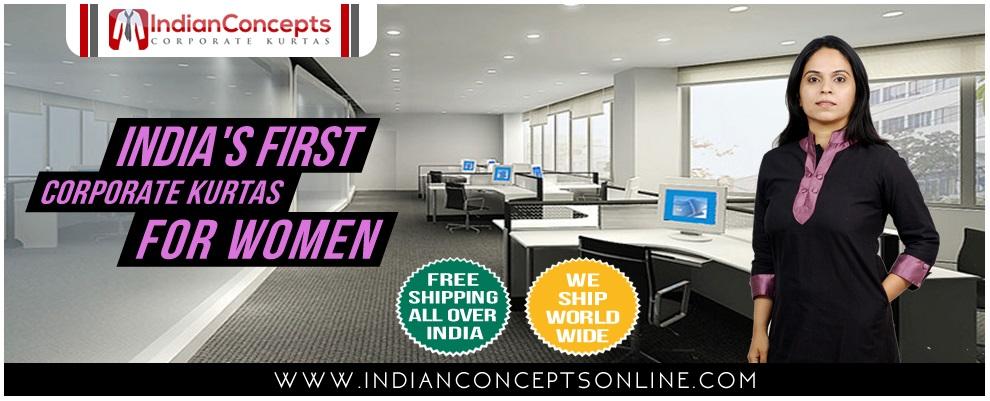 Women Office Kurtis