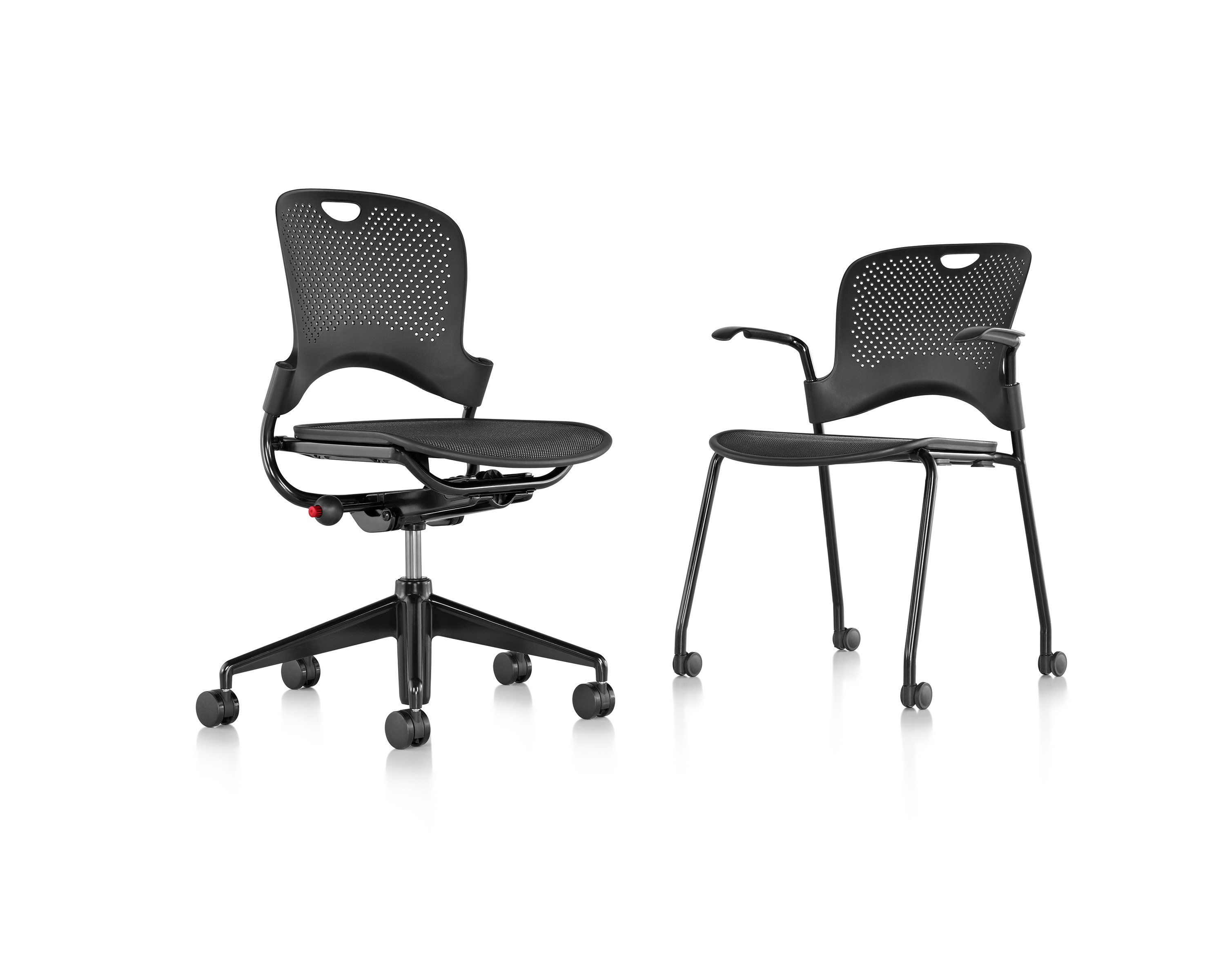 Multiple Caper Chairs