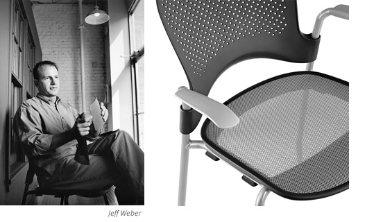 Jeff Weber Designing Caper Chair