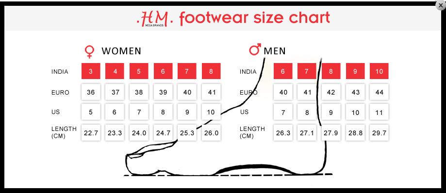 H M Shoes Size Chart 28 Images H M Shoe Size Chart