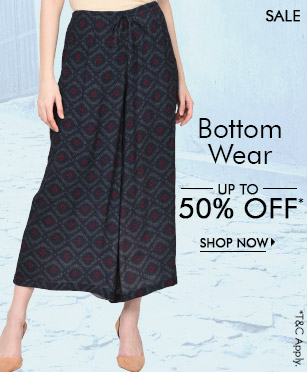 Bottom Wear - upto 50% off