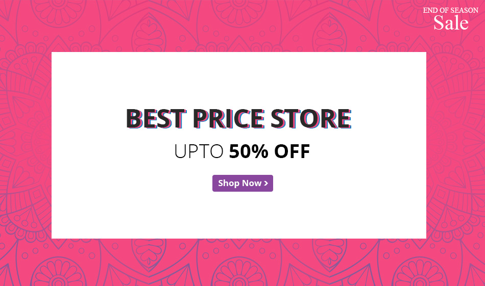 Best price store - upto 50% off